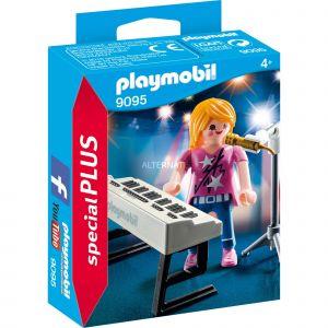 Playmobil 9095 - Special Plus : Chanteuse avec synthé