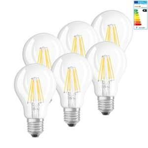 Osram Ampoule LED E27 4058075051751 forme standard 7 W = 60 W blanc chaud (Ø x L) 60 mm x 105 mm EEC: A++ 6 pc(s)