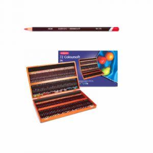 Derwent Coffret bois 72 crayons col?