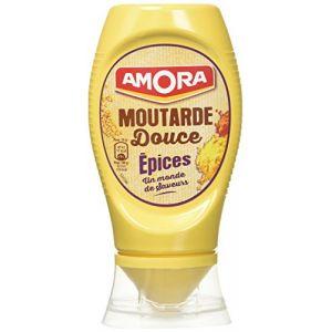 Amora Moutarde douce épicée - Le pot de 260g