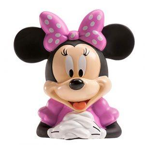 Dekora Tirelire Fille de Disney Minnie Mouse avec Billets en Azyme 204010 Rose