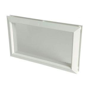 Nicoll Hublot décoratif rectangulaire 380x225 vitre incolore