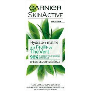 Garnier SkinActive Crème de Jour à la Feuille de Thé Vert