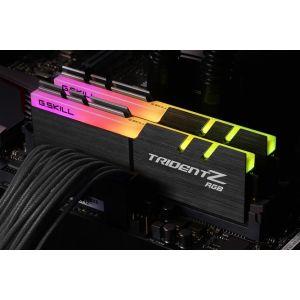 Image de G.Skill F4-2933C16D-16GTZRX - Trident Z RGB 16 Go (2x 8 Go) DDR4 2933 MHz CL16