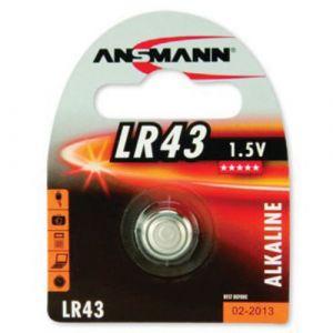 Ansmann LR 43 - 1,5 V Pile de bouton Alcaline pour Télécommande