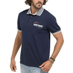 Oxbow NOSTER Polo Homme, Deep Marine, FR (Taille Fabricant : XL)