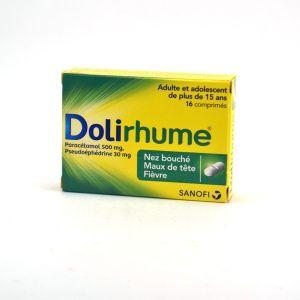 Sanofi Dolirhume - 16 comprimés