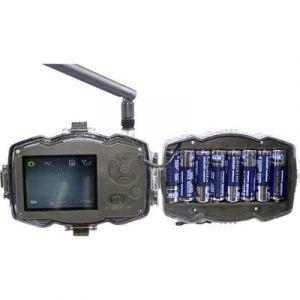 Berger & Schröter Piège photographique 3G MMS/GPRS Wild-Kamera 30 Mill. pixel module GSM, LED noires, enregistrement son