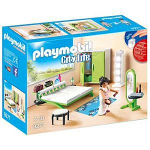 Playmobil 9271 - City Life : chambre avec table de maquillage