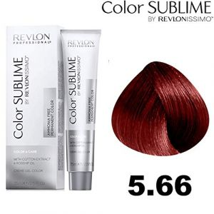 Revlon Color Sublime by issimo 75 ml. Col. 5,66 chatain clair rouge int.
