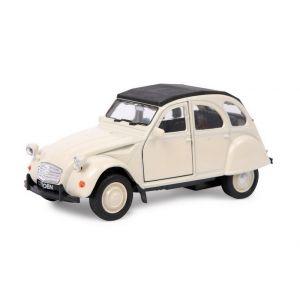 Legler Petite voiture Citroën 2 CV blanche Malval
