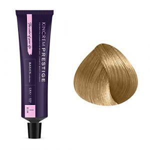 Kin Cosmetics Coloration permanente enrichie à la kératine CN 9.0 - Blond Très Clair Froid, 60ml