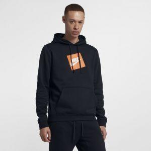 Nike Sweat à capuche en tissu Fleece Sportswear pour Homme - Noir - Taille L