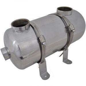 VidaXL Echangeur de chaleur pour piscine 355 x 134 mm 40 kw