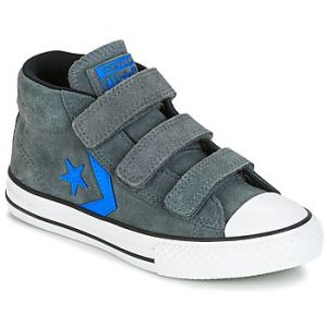 Converse Chaussures enfant STAR PLAYER EV V STAR PLAYER SUEDE MID THUNDER/BLACK/ITALY BLUE