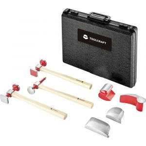 Toolcraft Set de débosselage 7 pièces 96029C1125 1 set