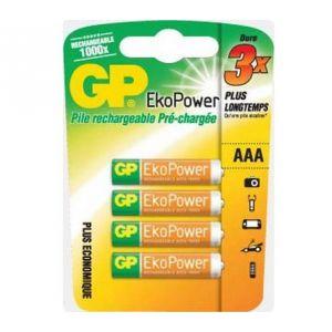 GP Batteries Ecopower Accus CIPA GP 4 AAA 650 maH