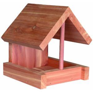 Trixie Mangeoire en bois de cèdre pour oiseaux (16 cm)