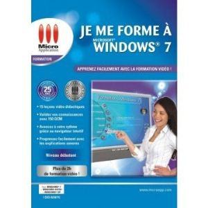 Je me forme à Windows 7 pour Windows
