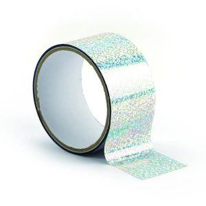 Graine Créative Ruban adhésif décoratif Queen Tape 48 mm x 8 m Argent