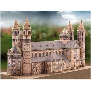 Schreiber-bogen 706 - Maquette en carton Cathédrale Saint:Pierre de Worms, Allemagne