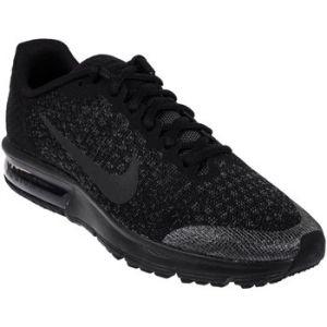 Nike Air Max Sequent 2 GS, Chaussures de Gymnastique Fille, Noir (Black/Black/Anthracite), 36.5 EU