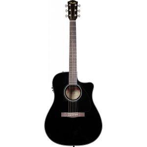 Fender CD-60SCE Classic Design Noire