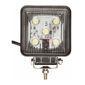 Ohm-Easy Projecteur LED carré noir 15W extérieur IP67