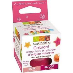 Scrapcooking 4200 - Colorant alimentaire origine naturelle rouge