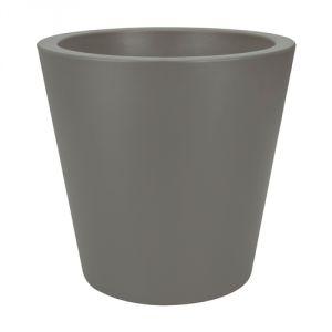 Elho Pure Straight Round 35 - Pot de fleurs rond Ø35 x 34 cm