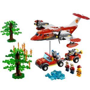 Lego 4209 - City : L'avion des pompiers