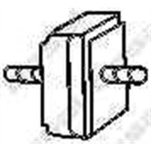 Bosal Silent bloc 255-282