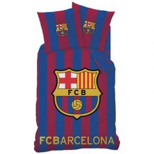 Parure housse de couette FC Barcelone logo (140 x 200 cm)