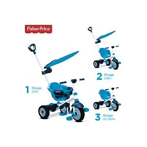 SmarTrike Tricycle Charm Plus 3 en 1 - Bleu