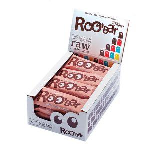Roo'bar Raw Energy Bar Mulberry And Vanilla 50 G X 16