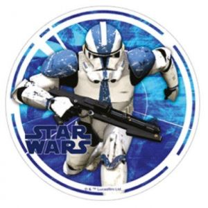 Disque azyme Stromtrooper Star Wars