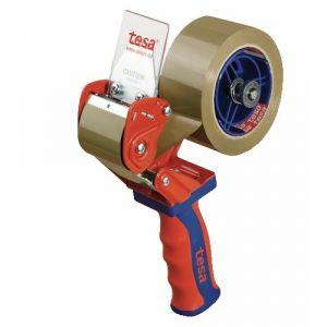 Tesa 06400-00001-03 - Dérouleur professionnel manche ergonomique avec lame rétractable 50 mm