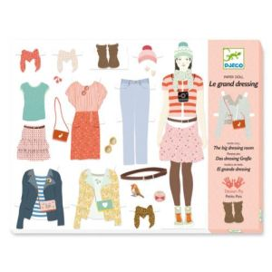 Djeco Paper Doll : Le grand dressing