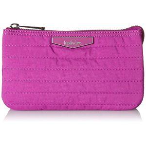 Kipling Creativity L, Porte-monnaie femme, Pink (Wild Pink), 18.5x11x0.1 cm (B x H T)