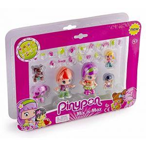 Famosa PINYPON - 3 Figurines + 2 Bébés + 1 Animal