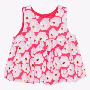 Catimini Top réversible imprimé fleur de cerisier Multicolore - Fille