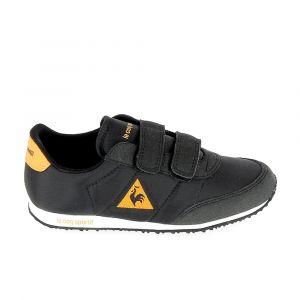 Le Coq Sportif Chaussures enfant Racerone C Noir Orange Noir - Taille 33,34,35