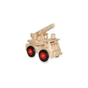Legler 1089 - Camion avec grue et roues en plastique