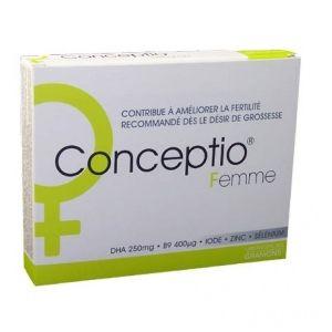 Laboratoire des Granions Conceptio Femme - 30 gélules + 30 capsules