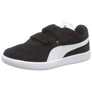 Puma Icra Trainer SD V Inf, Sneakers Basses Mixte Enfant, Noir (Black-White), 22 EU
