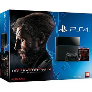 Sony Pack PS4 500 Go + Metal Gear Solid V : The Phantom Pain
