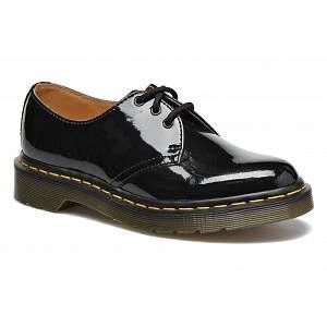 Dr. Martens Patent chaussures noir 41,0 EU
