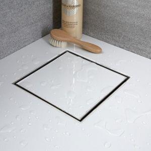Hudson Reed Caniveau de douche à carreler carré 20cm