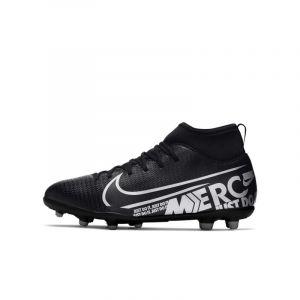 Nike Chaussure de footballà crampons multi-surfaces Jr. Mercurial Superfly 7 Club MG pour Jeune enfant/Enfant plus âgé - Noir - Taille 35.5 - Unisex