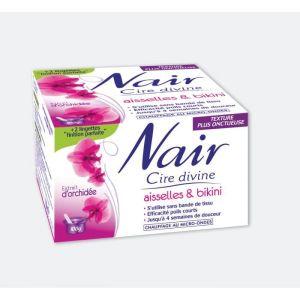 Nair Cire divine - Aisselles & bikini extrait d'orchidée